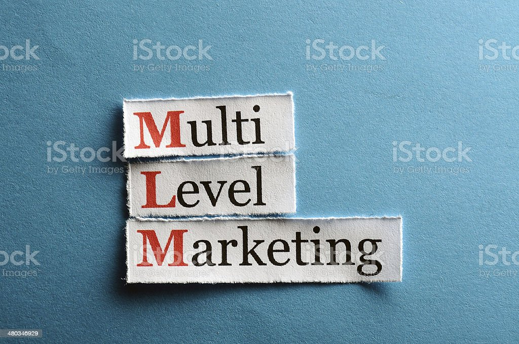 mlm  abbreviation royalty-free stock photo