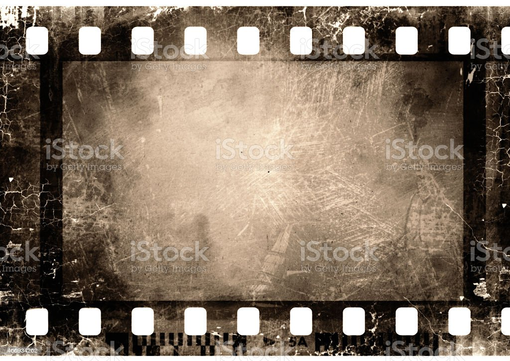 35 mm film strip stock photo