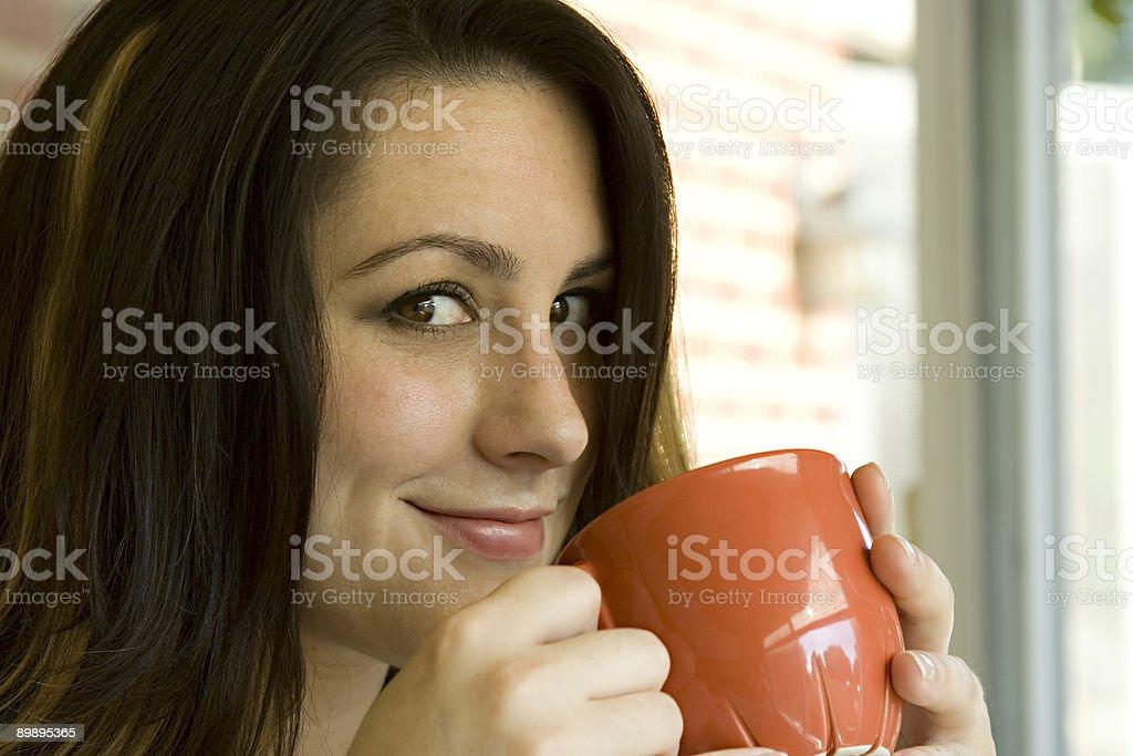 Mmmm, Coffee. royalty-free stock photo