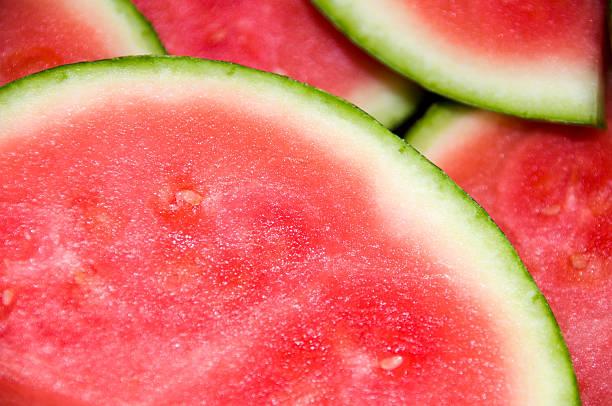 Mmmmm! Watermelon stock photo