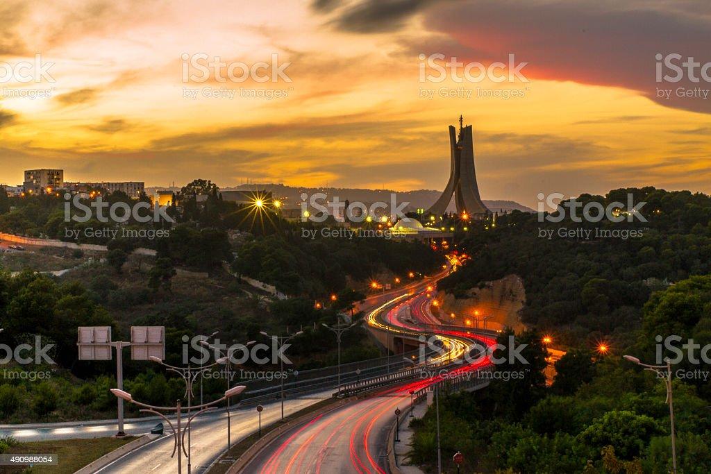 Mémorial du Martyr à Alger - Photo