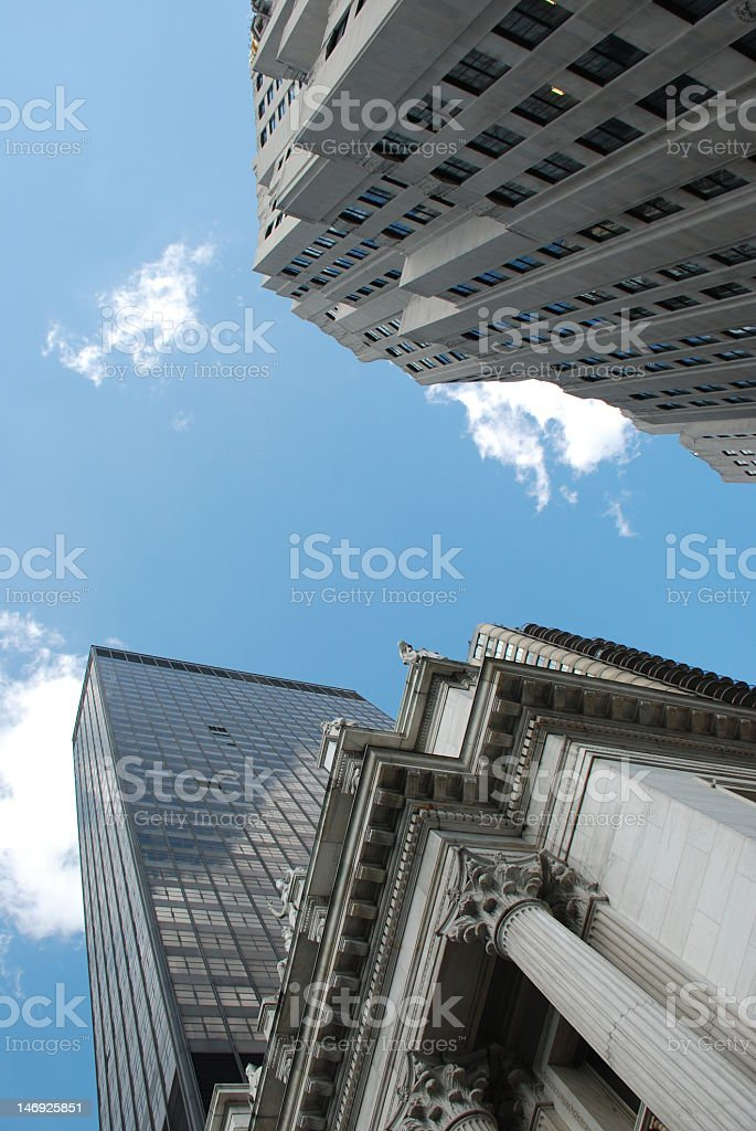 Mnhattan Skyscrapers royalty-free stock photo