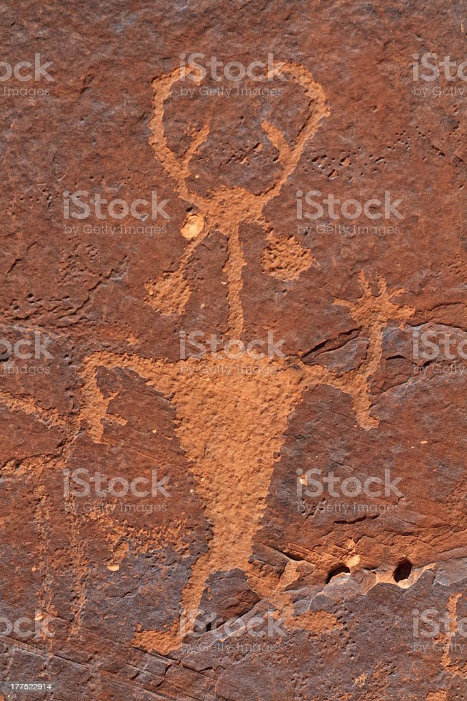 Moab Man stock photo