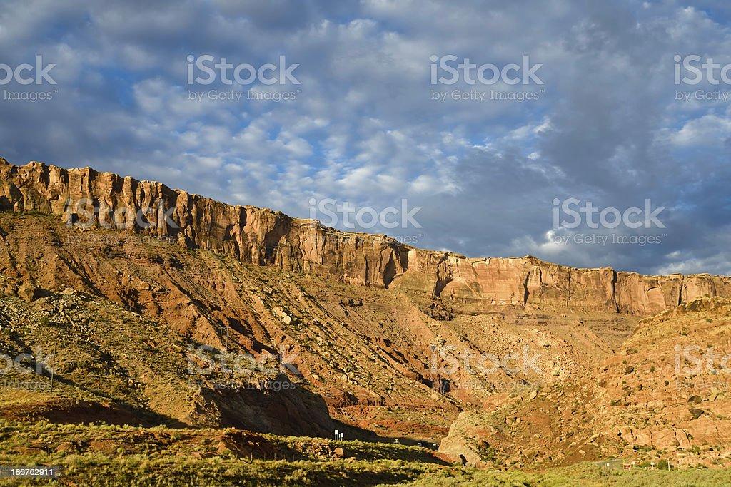 Moab, Utah royalty-free stock photo