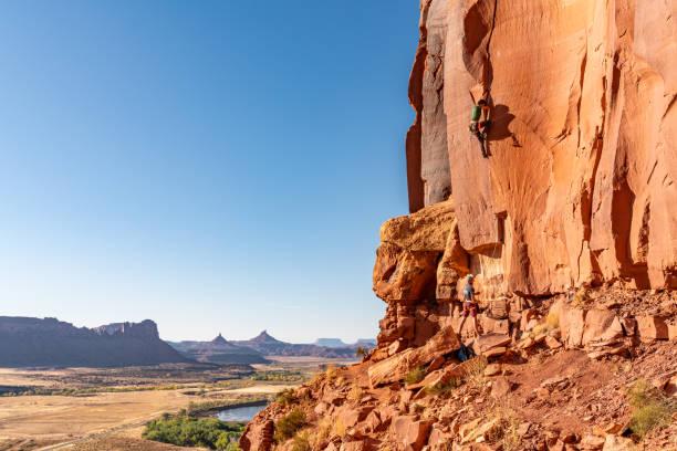 moab, utah, verenigde staten 10/15/2019 - moab utah stockfoto's en -beelden