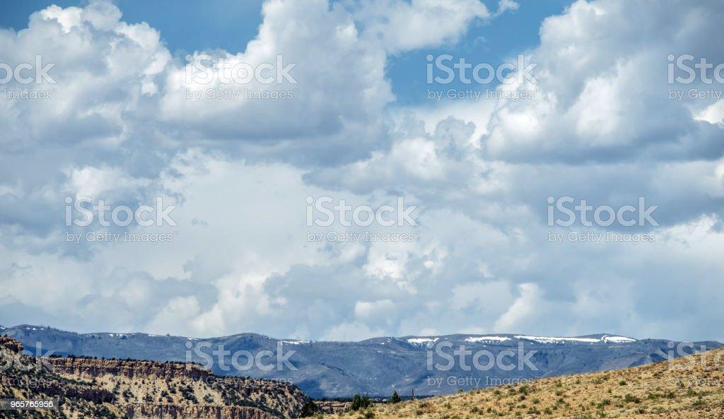 Moab Valley Landscape - Royalty-free Ambiente dramático Foto de stock