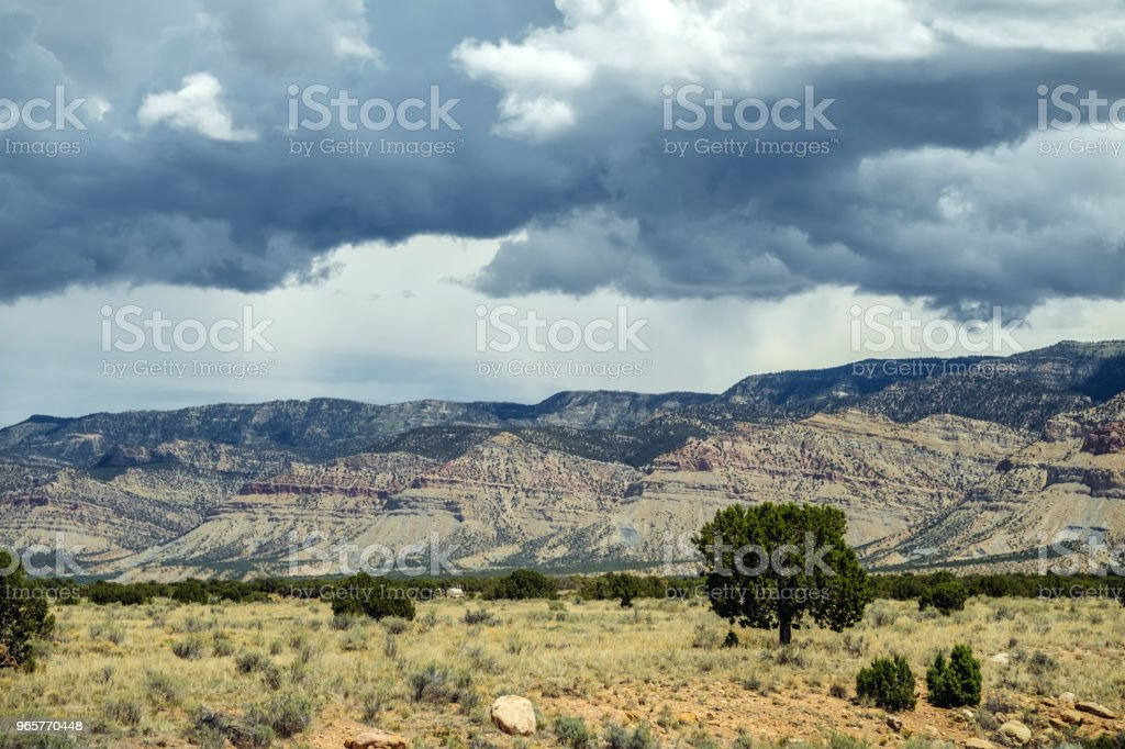 Moab Valley Landscape - Royalty-free Agricultural Field Stock Photo