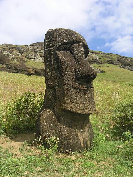 Moai from Rano Raraku