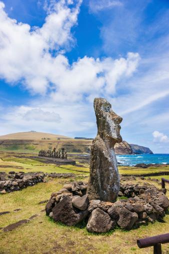 Ahu Tongariki | Easter island statues, Easter island