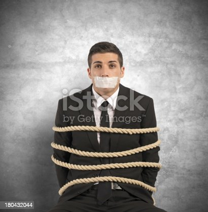 istock Mobbing and stress at work 180432044