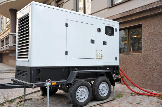 Générateur électrique de Mobil. - Photo