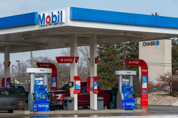 Mobil-Tankstelle – Foto