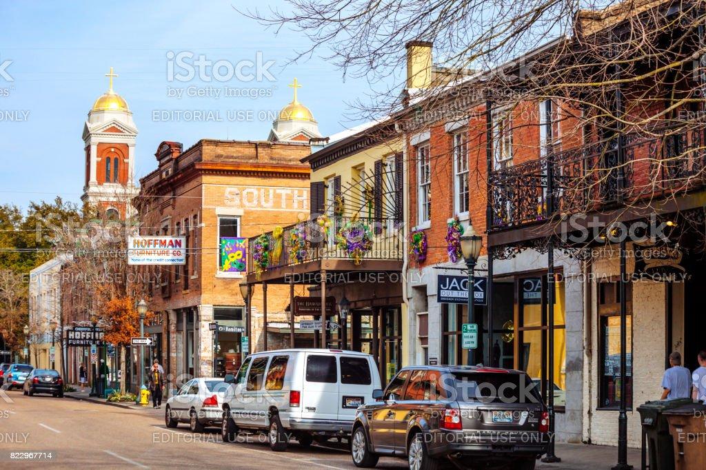 Mobile Alabama Altstadt Stockfoto Und Mehr Bilder Von Alabama Istock