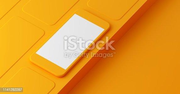 istock Mobile App Presentation Mockup 1141252257