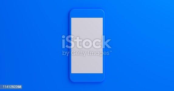 istock Mobile App Presentation Mockup 1141252268