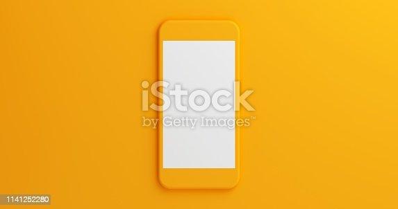istock Mobile App Presentation Mockup 1141252280