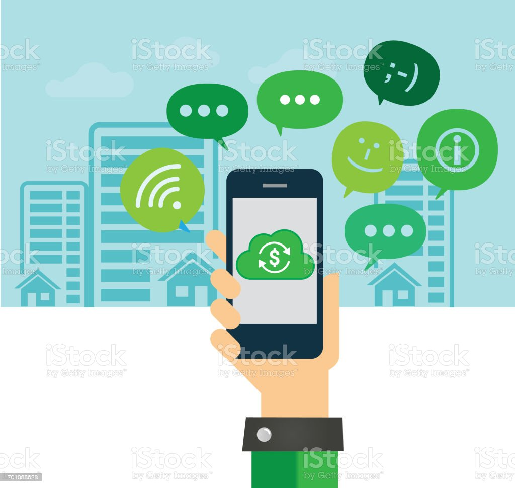 Mobile Automatic Payment royalty-free stock photo