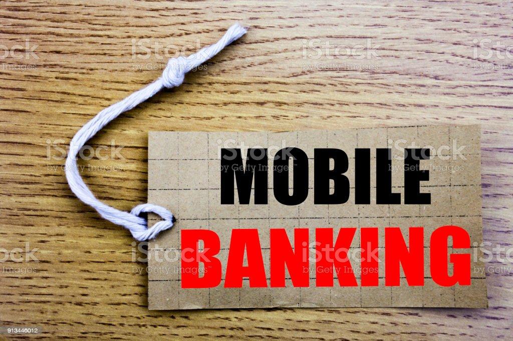 Mobile Banking. Business concept for online saleInternet Banking...