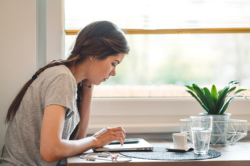 Mobile Banking Making Life Easier For People Stock Photo - Download Image Now