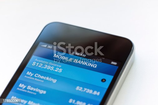 istock Mobile banking on phone 178500061