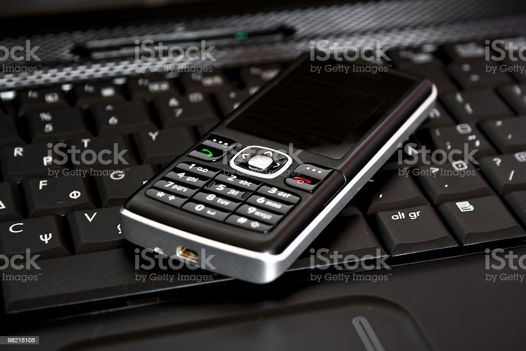 Mobile business concept royalty-free stock photo