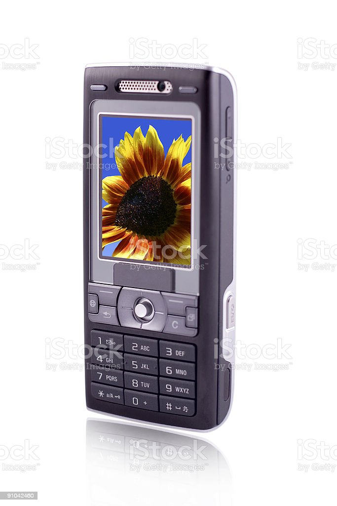 Mobile Cell Phone royalty-free stock photo