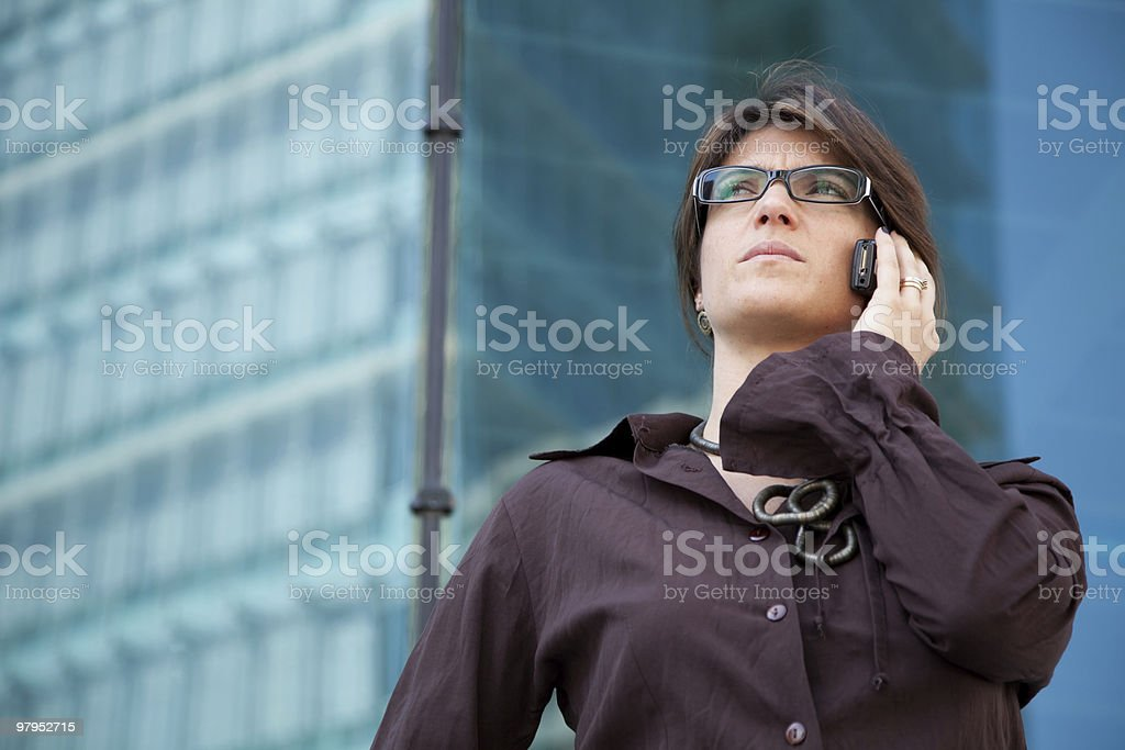Mobile communication royalty-free stock photo