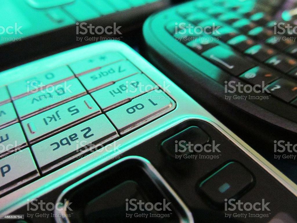 Mobile communications stock photo