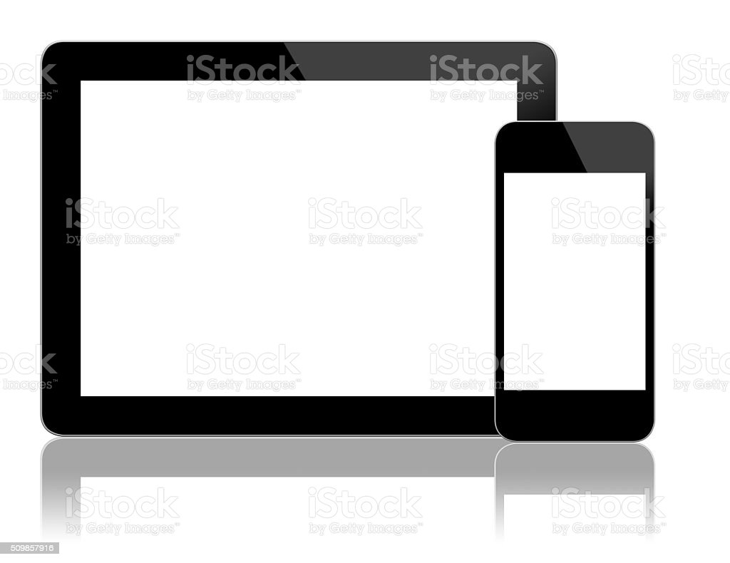 Mobile Computing Devices stock photo