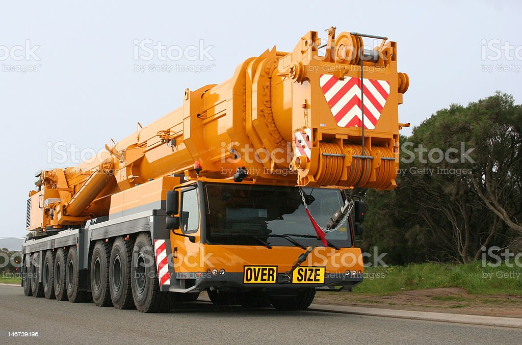Mobile crane, 500 tonne all-terrain Liebherr LTM 1500-8.1 stock photo