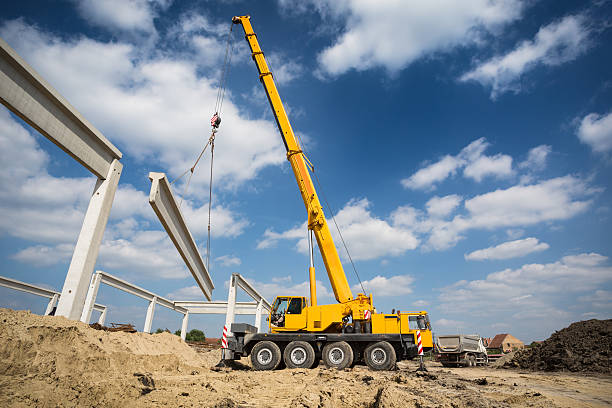 Mobile crane Mobile crane mobile crane stock pictures, royalty-free photos & images