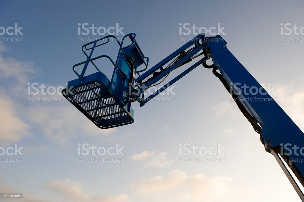 Mobile crane royalty-free stock photo