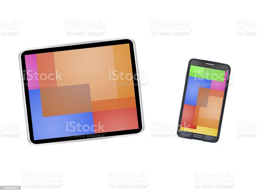 Mobile Device royalty-free stock photo