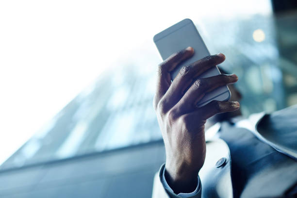 Mobile gadget stock photo