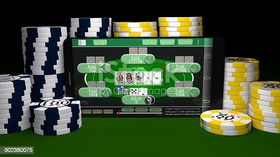istock Mobile Gambling 502380075