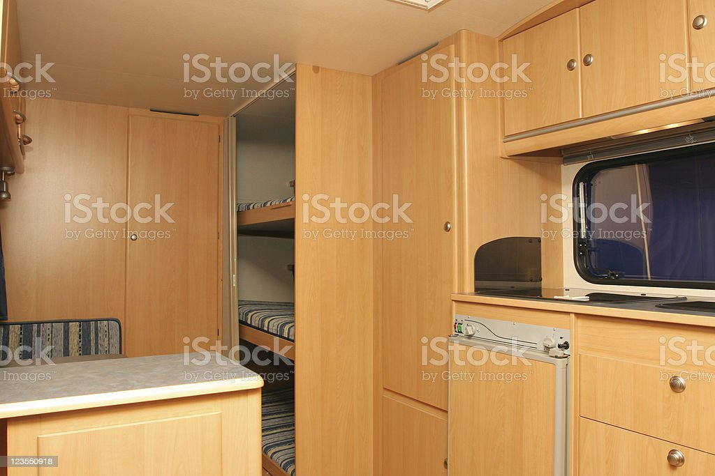 Mobile home royalty-free stock photo