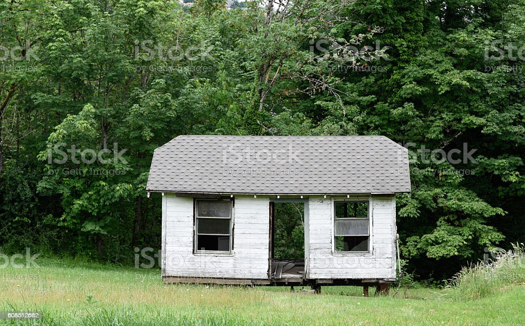 Mobile Home stock photo