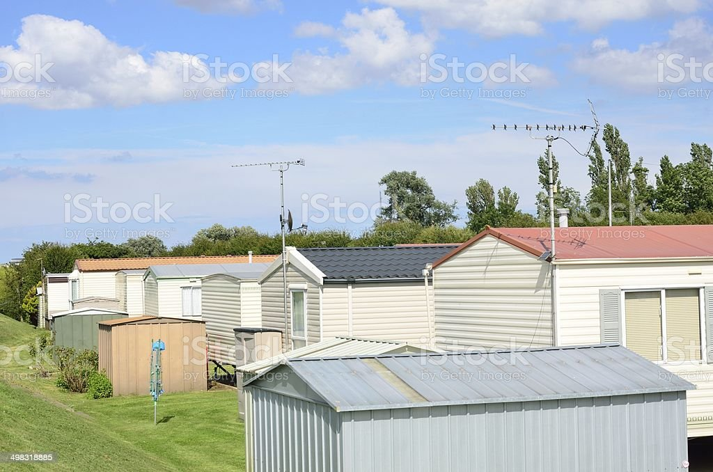 Mobile Homes Stock Photo - Download Image Now - iStock