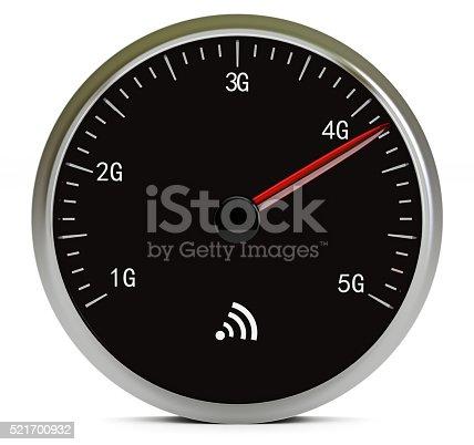 istock Mobile internet speed 521700932