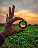 Creativity with mobile lens with beautiful nature.