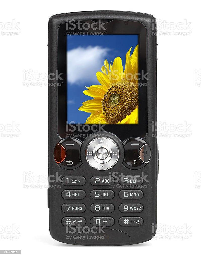 Mp3 Telefono Cellulare Isolato Su Sfondo Bianco Fotografie Stock E