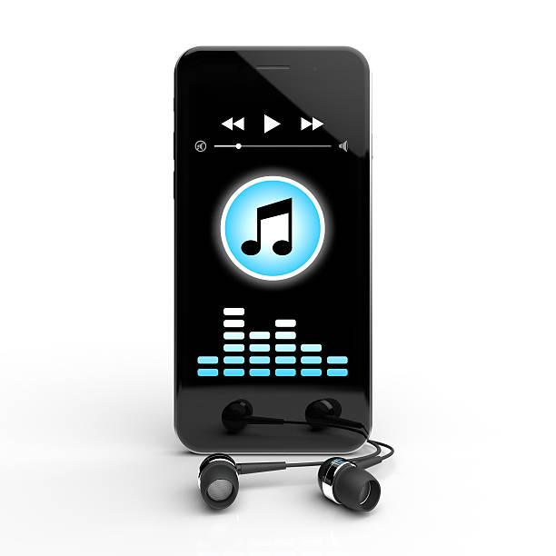 mobile musik - geräusche app stock-fotos und bilder