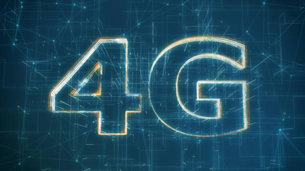4g mobile network - 4g foto e immagini stock