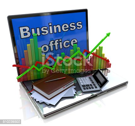 511722788 istock photo Mobile office, accounting, financial development and banking bus 510239302