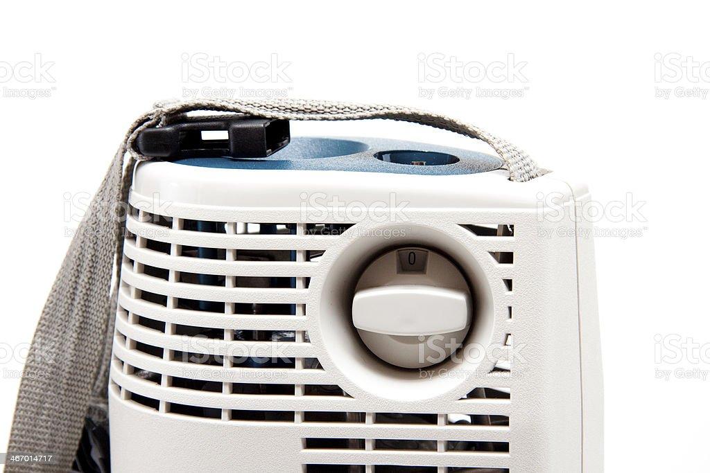 Mobile oxygen appliance stock photo