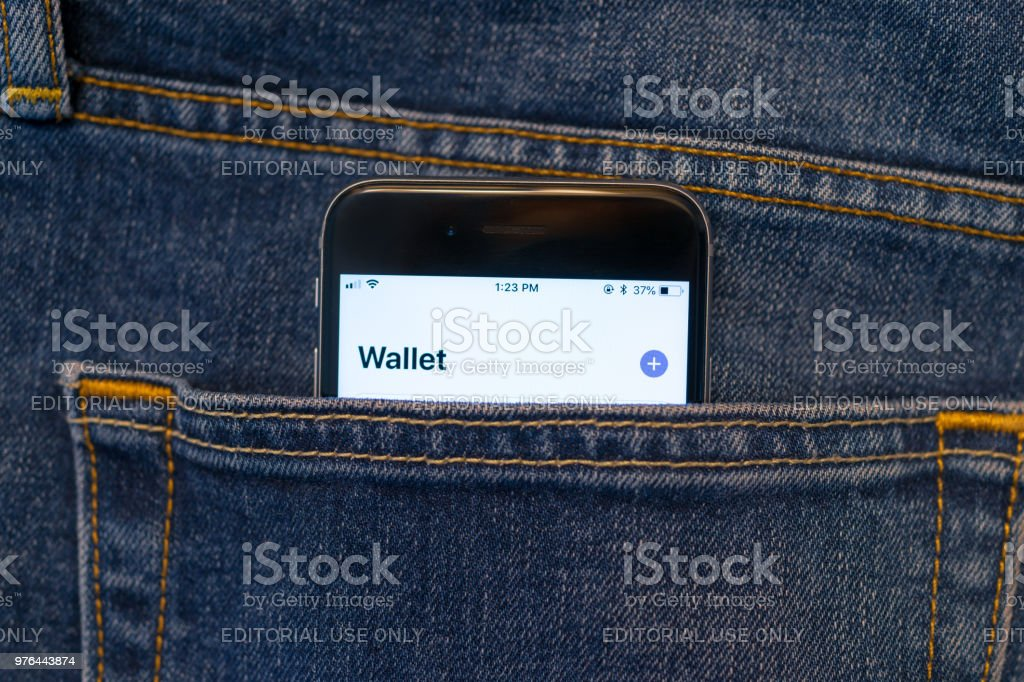 Mobile Pay stock photo