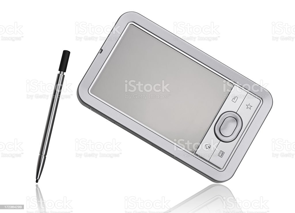 Mobile PDA royalty-free stock photo