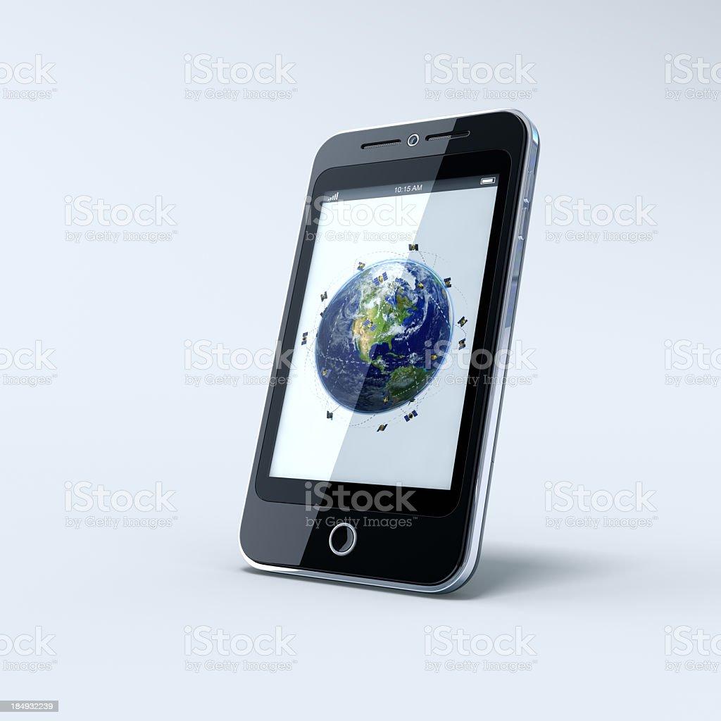 Téléphone Mobile et GPS - Photo
