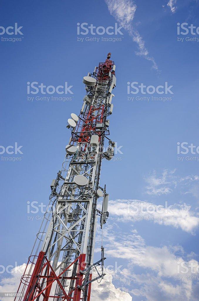 Mobile Phone Base Station royalty-free stock photo
