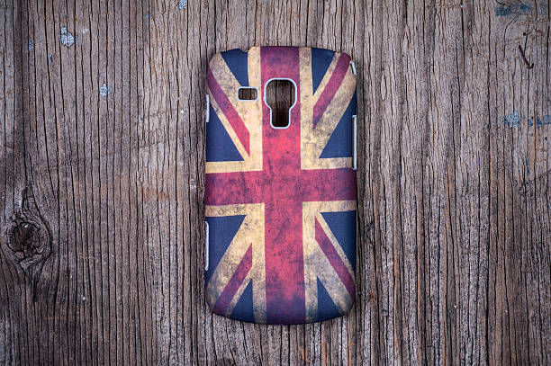 Mobile Phone Cover stock photo